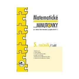 Matematické …minutovky 5. ročník / 1. díl