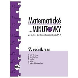 Matematické …minutovky 9. ročník / 1. díl