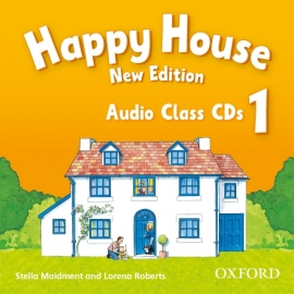 Happy House 1 - New Edition - Class Audio CDs (2)