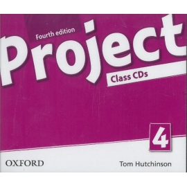 Project 4 - Fourth Edition - Class Audio CDs (4)