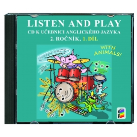 CD Listen and play 2 - WITH ANIMALS, 1. díl