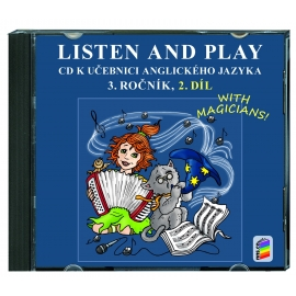 CD Listen and play 3, 2. díl (2 CD)