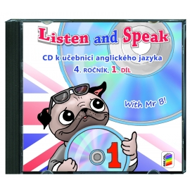 CD Listen and speak 4, 1. díl (2 CD)