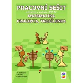 Matematika - Procenta a trojčlenka (pracovní sešit)