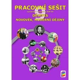 Dějepis 9 - Novověk, moderní dějiny (pracovní sešit)
