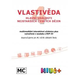 MIUč+ Vlastivěda 4 - Hlavní události nejstarších českých dějin - školní multilicence
