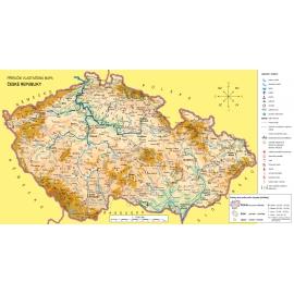 Náhradní mapa k učebnici Vlastivěda 5 - ČR jako součást Evropy