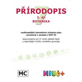 MIUč+ Přírodopis 7, 2. díl - Botanika - školní multilicence