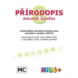 MIUč+ Přírodopis 8 - Biologie člověka - školní multilicence