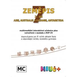 MIUč+ Zeměpis 7, 2. díl - Asie, Austrálie a Oceánie, Antarktida - školní multilicence