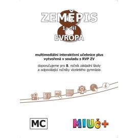 MIUč+ Zeměpis 8, 1. díl - Evropa - školní multilicence
