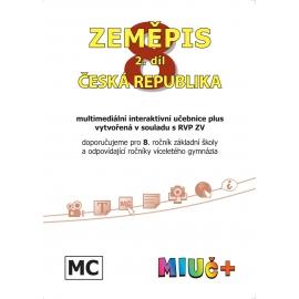 MIUč+ Zeměpis 8, 2. díl - Česká republika - školní multilicence