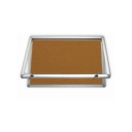Vitrína lakovaná magnetická výplň, pro 2xA4