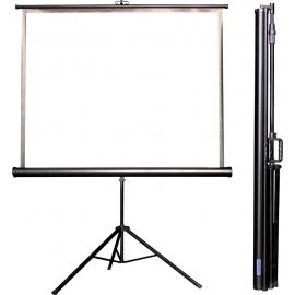 Projekční plátno 170x127cm, ruční roletové