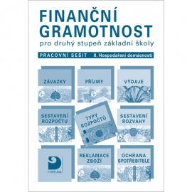 Finanční gramotnost pro 2. stupeň ZŠ – pracovní sešit – II. Hospodaření domácnosti