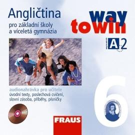 Angličtina 6 pro ZŠ a VG Way to Win CD /2ks/ - pro učitele