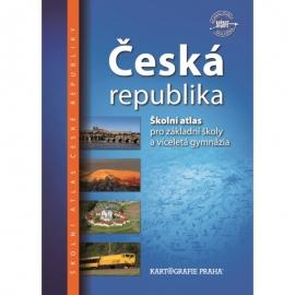 Česká republika – školní atlas