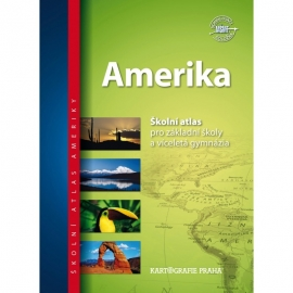 Amerika – školní atlas
