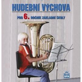 CD KUČEBNICI HUDEBNÍ VÝCHOVA pro6. r. ZŠ