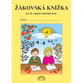 Žákovská knížka pro 2. stupeň základní školy