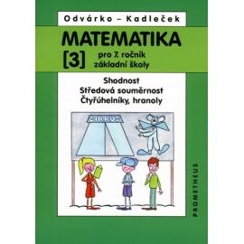 Matematika pro 7. ročník ZŠ, 3. díl - Odvárko, Kadleček