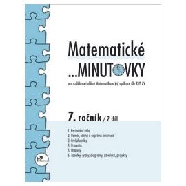 Matematické …minutovky 7. ročník / 2. díl