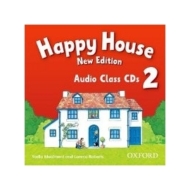 Happy House 2 - New Edition - Class Audio CDs (2)