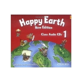 Happy Earth 1 - New Edition - Class Audio CDs (3)