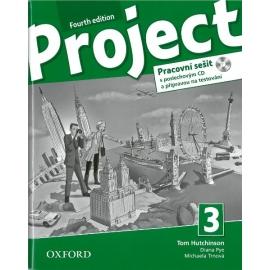 Project 3 - Fourth Edition - Pracovní sešit s poslechovým CD a přípravou na testování