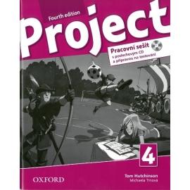 Project 4 - Fourth Edition - Pracovní sešit s poslechovým CD a přípravou na testování