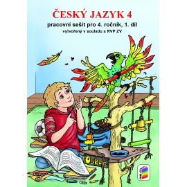Český jazyk 4, 1. díl (pracovní sešit) - nová řada