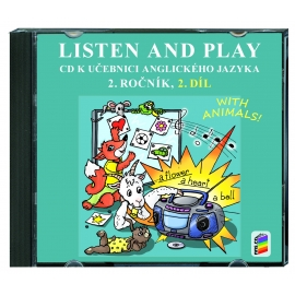 CD Listen and play 2 - WITH ANIMALS, 2. díl (2 CD)