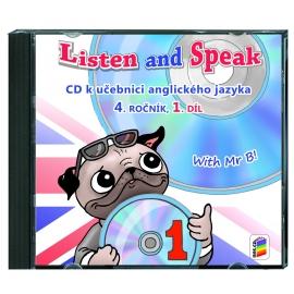 CD Listen and speak 4, 1. díl (2 CD)