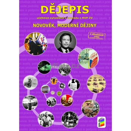 Dějepis 9 - Novověk, moderní dějiny (učebnice)