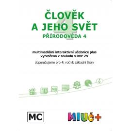 MIUč+ Člověk a jeho svět - Přírodověda 4 - školní multilicence