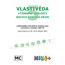 MIUč+ Vlastivěda 5 - Významné události novějších českých dějin - školní multilicence