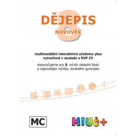MIUč+ Dějepis 8 - Novověk - školní multilicence