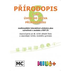 MIUč+ Přírodopis 6, 1. díl - Obecný úvod do přírodopisu - školní multilicence