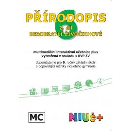 MIUč+ Přírodopis 6, 2. díl - Bezobratlí živočichové - školní multilicence