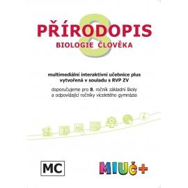 MIUč+ Přírodopis 8 - Biologie člověka - jeden rok na zkoušku