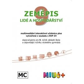 MIUč+ Zeměpis 9 - Lidé a hospodářství - školní multilicence