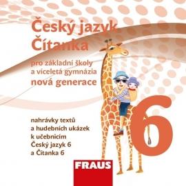 Český jazyk/Čítanka 6 – nová generace - CD