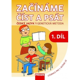 Český jazyk 1 GM pro ZŠ - Začínáme číst a psát