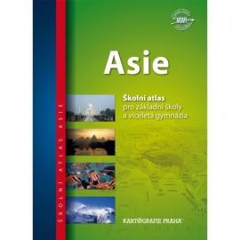 Asie – školní atlas