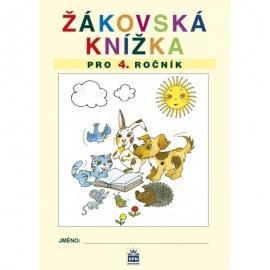 Žákovská knížka pro 4. třídu