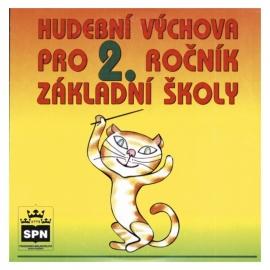 CD KUČEBNICI HUDEBNÍ VÝCHOVA pro 2. r. ZŠ